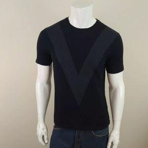 Louis Vuitton Mens V Front Crew T Shirt Sz S